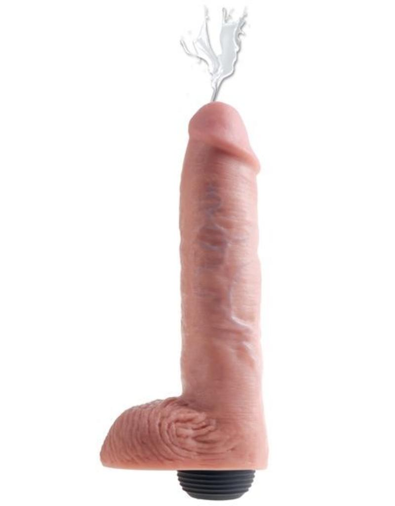 """King Cock King Cock With Balls - Squirti 11"""" natur"""