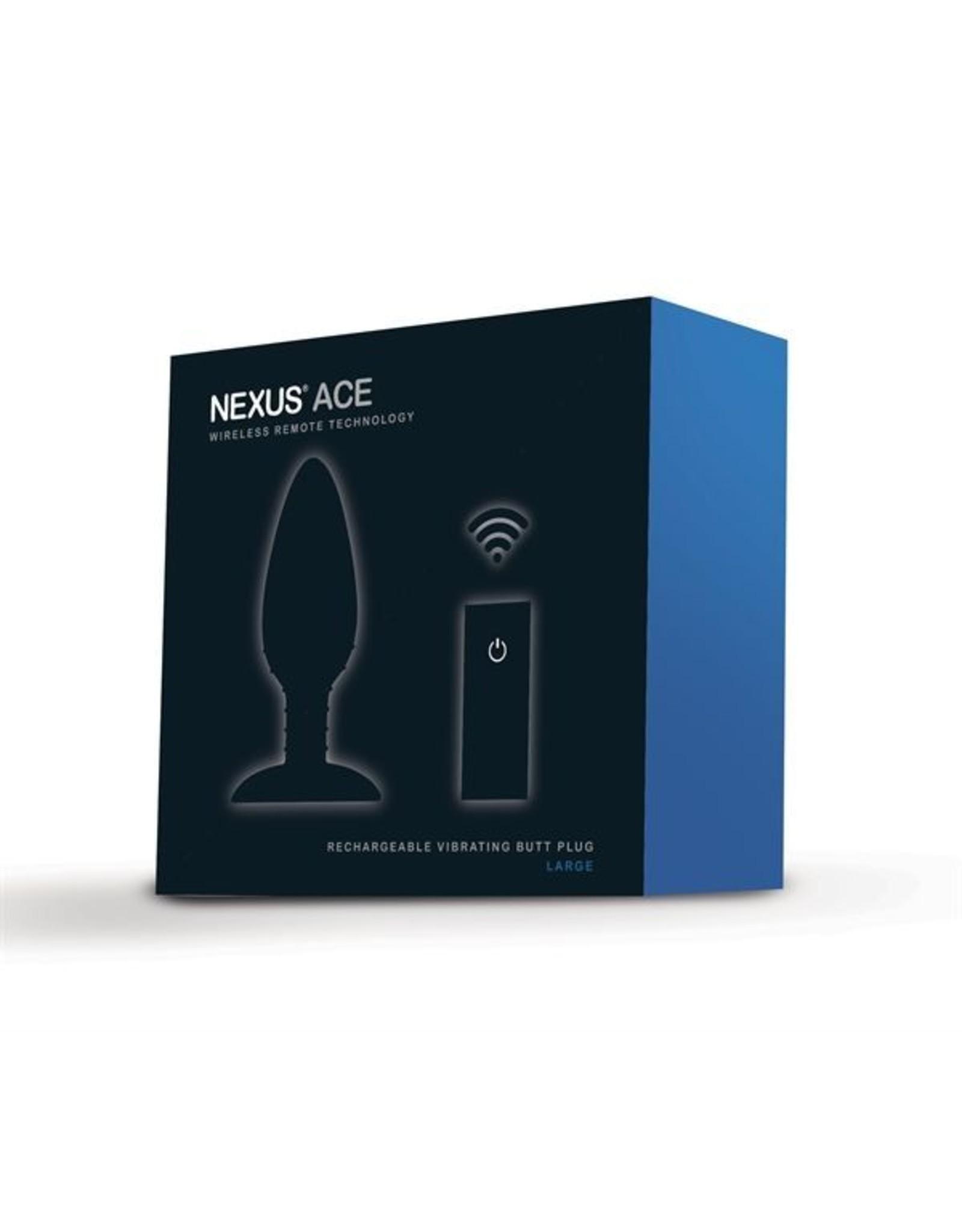 Nexus Ace Vibrating Butt Plug - Large