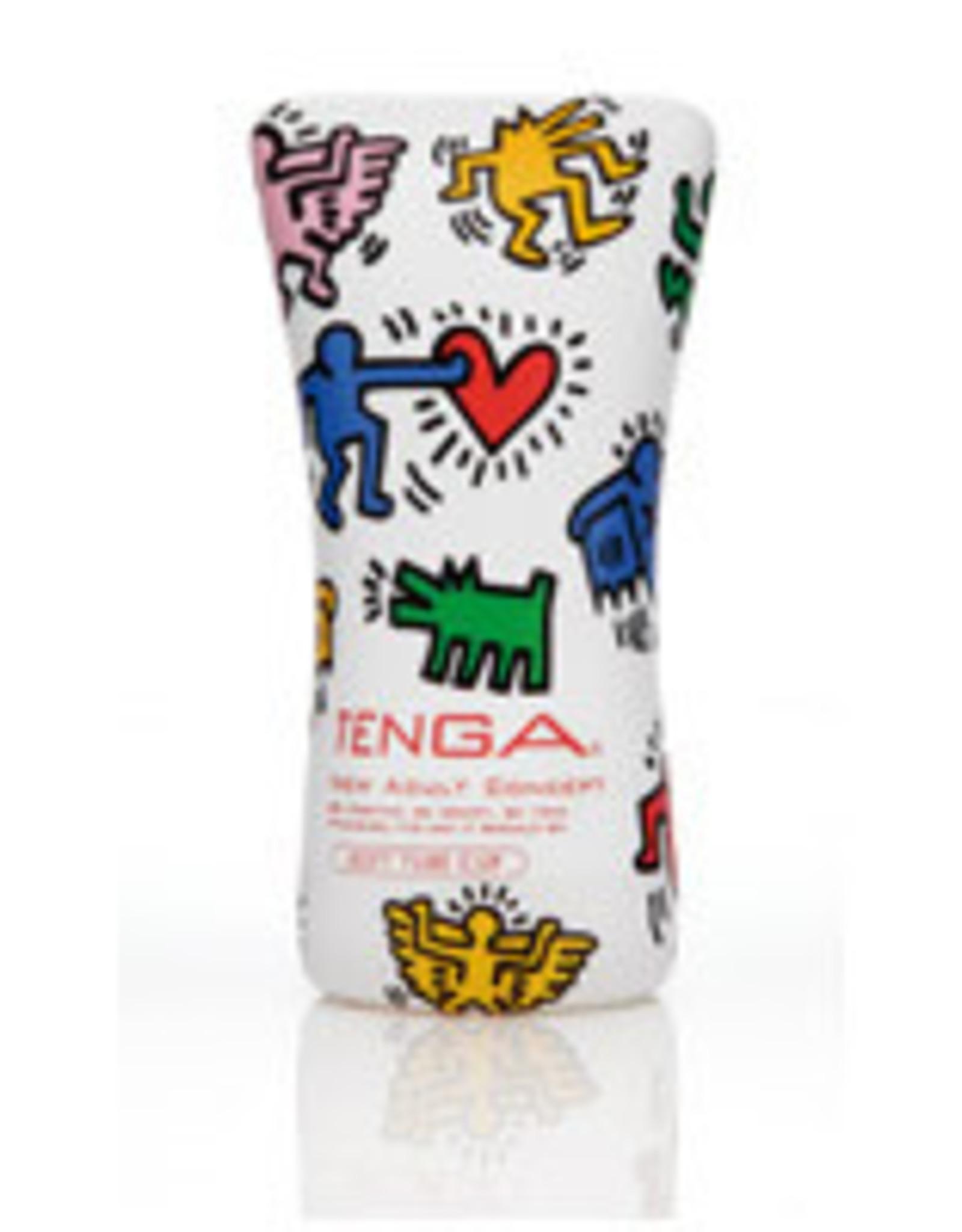 Tenga - Soft Tube Cup Masturbator - Keith Haring