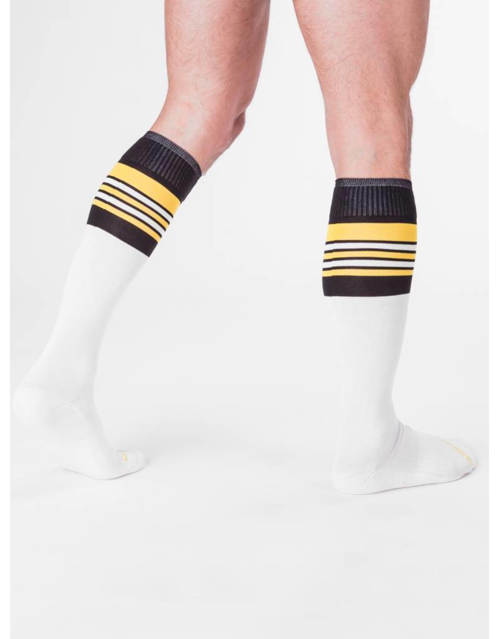 Barcode Berlin Barcode Berlin Football Socks weiss-gelb-schwarz