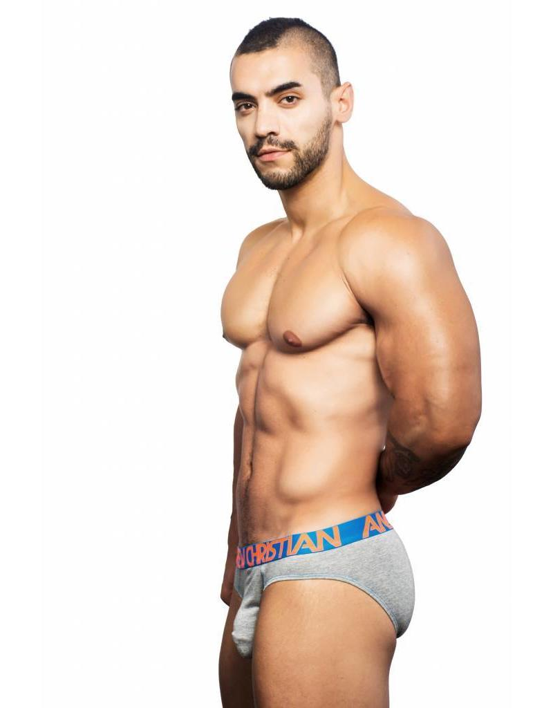 Andrew Christian Andrew Christian  Almost Naked Premium Brief - grau