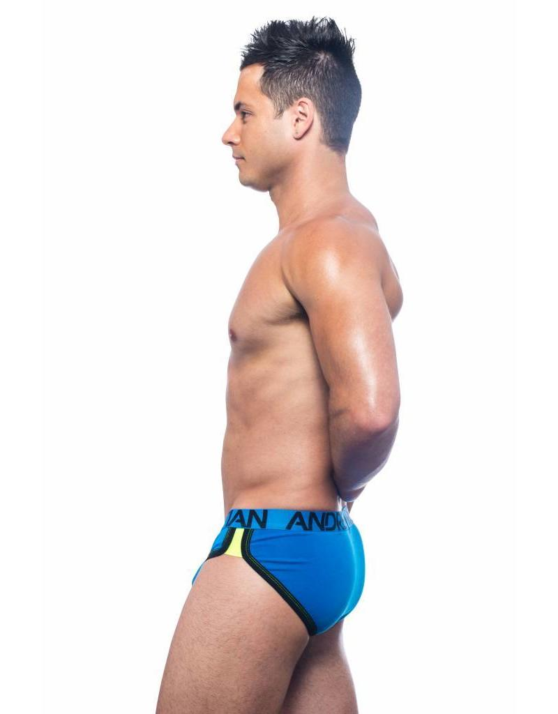 Andrew Christian Andrew Christian Show-It Retro Pop Brief - blau