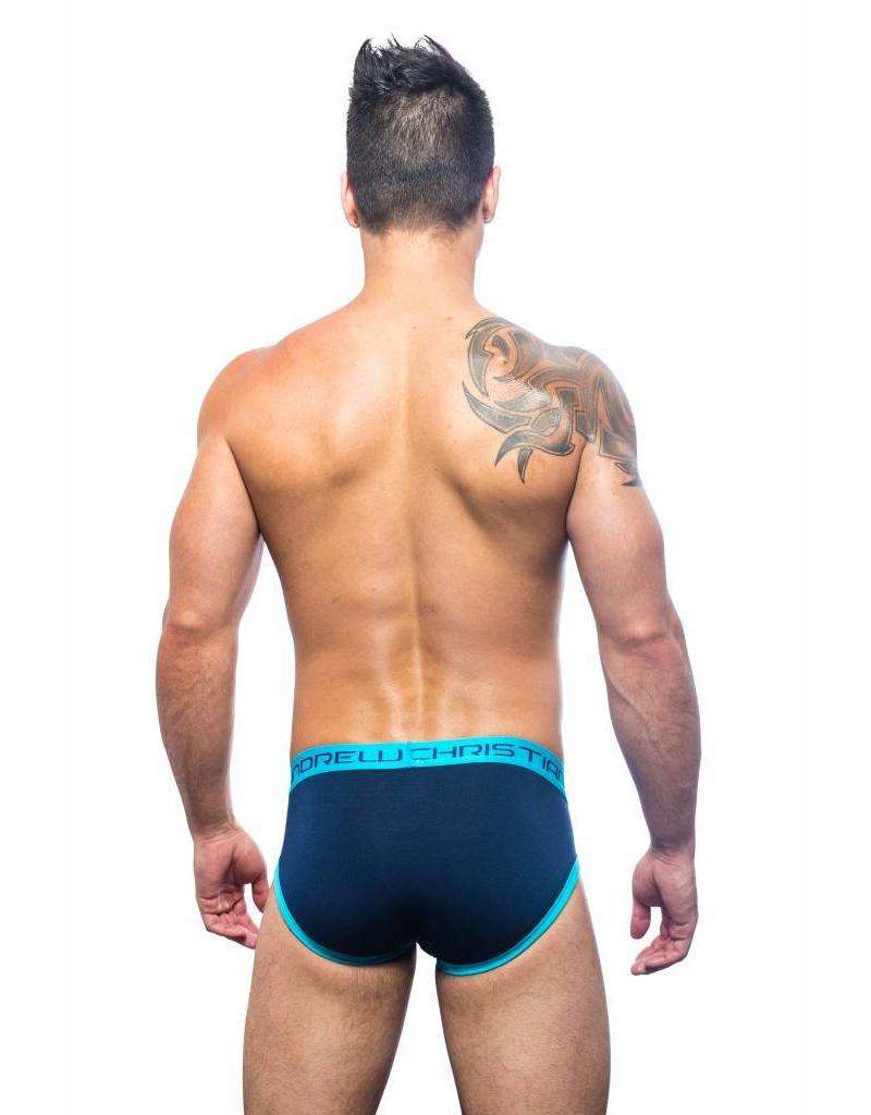 Andrew Christian Andrew Christian Almost Naked Retro Brief Navy Blue