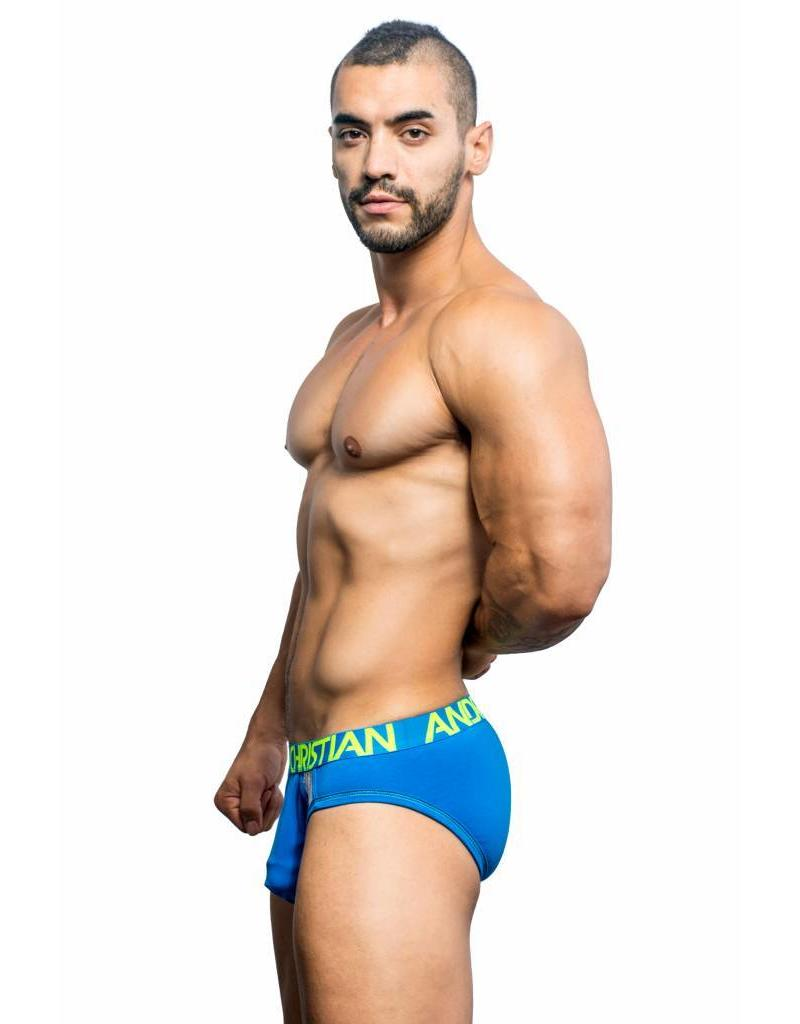 Andrew Christian Andrew Christian Trophy Boy Active Mesh Brief blue