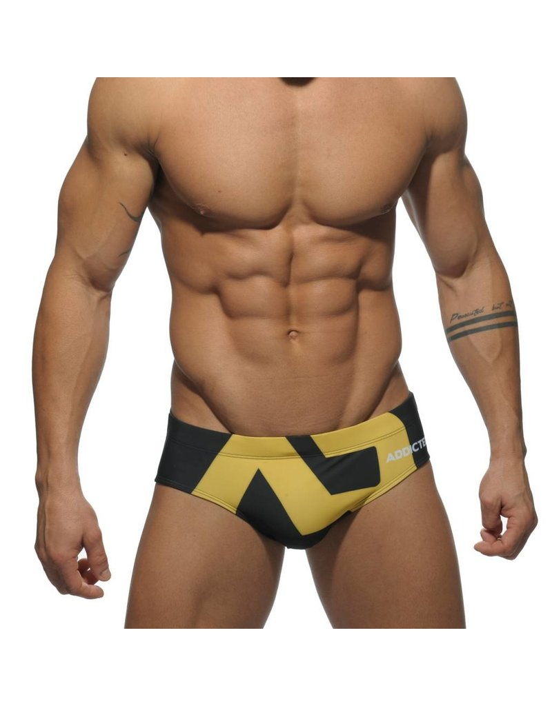 Addicted ADDICTED Extra Large AD Logo Brief black