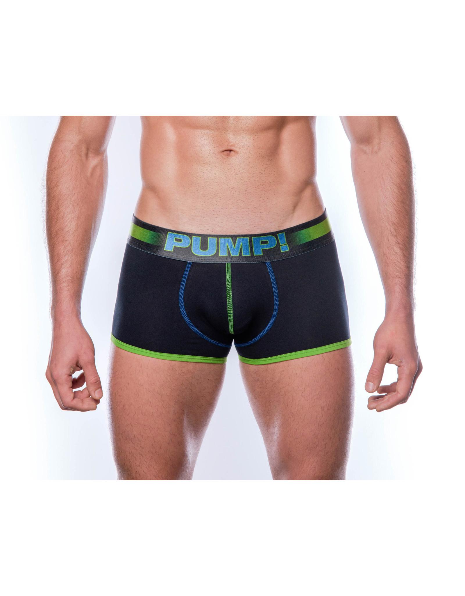 PUMP! PUMP! PLAY Green Boxer