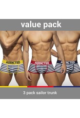 Addicted ADDICTED Three Pack Sailor Boxer