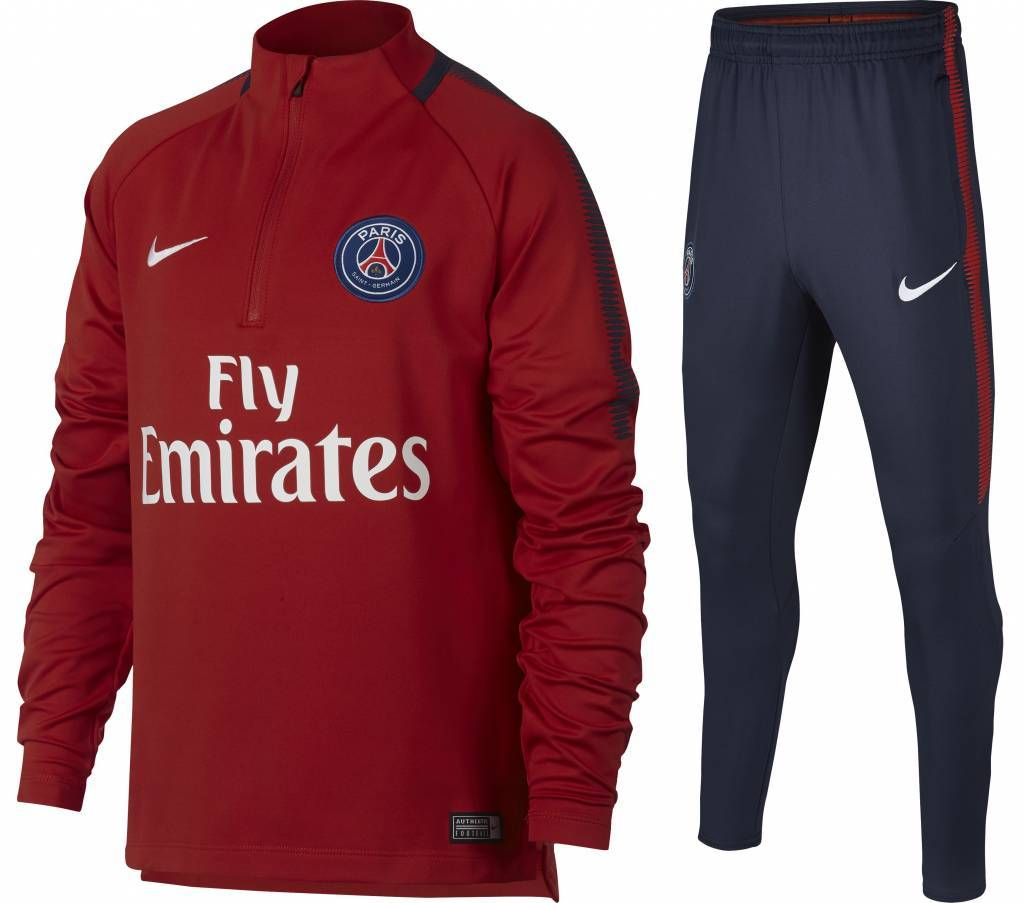 Nike Paris Saint Germain Drill Top Pak 17/18 JR.