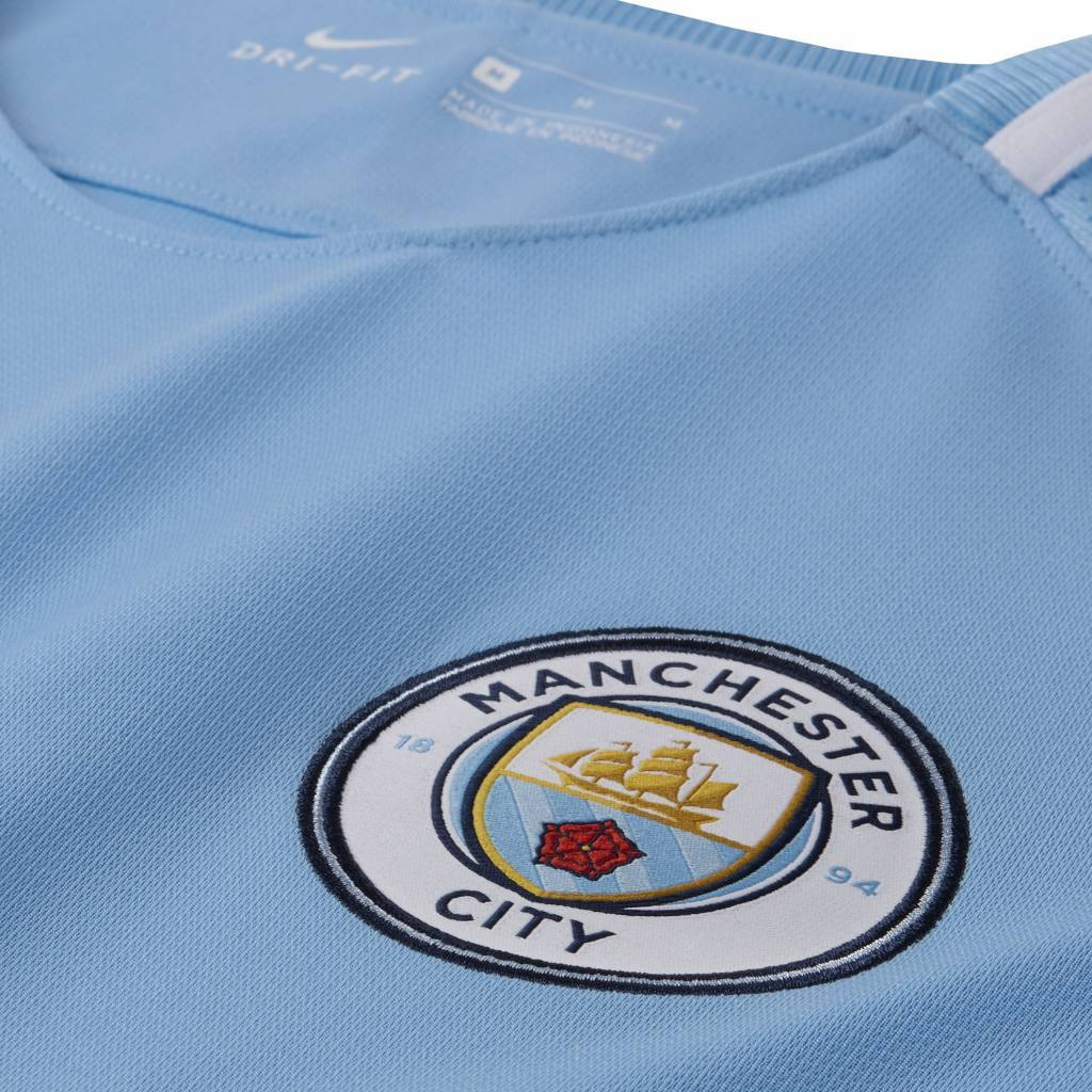 Nike Manchester City Thuis Shirt 17/18 JR.