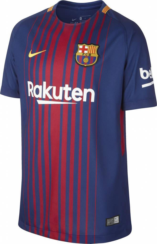 Nike FC Barcelona Thuis Shirt 17/18 JR.