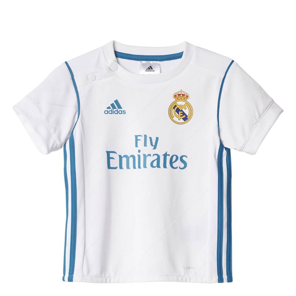 Adidas Real Madrid Thuis Tenue Baby 17/18 JR.