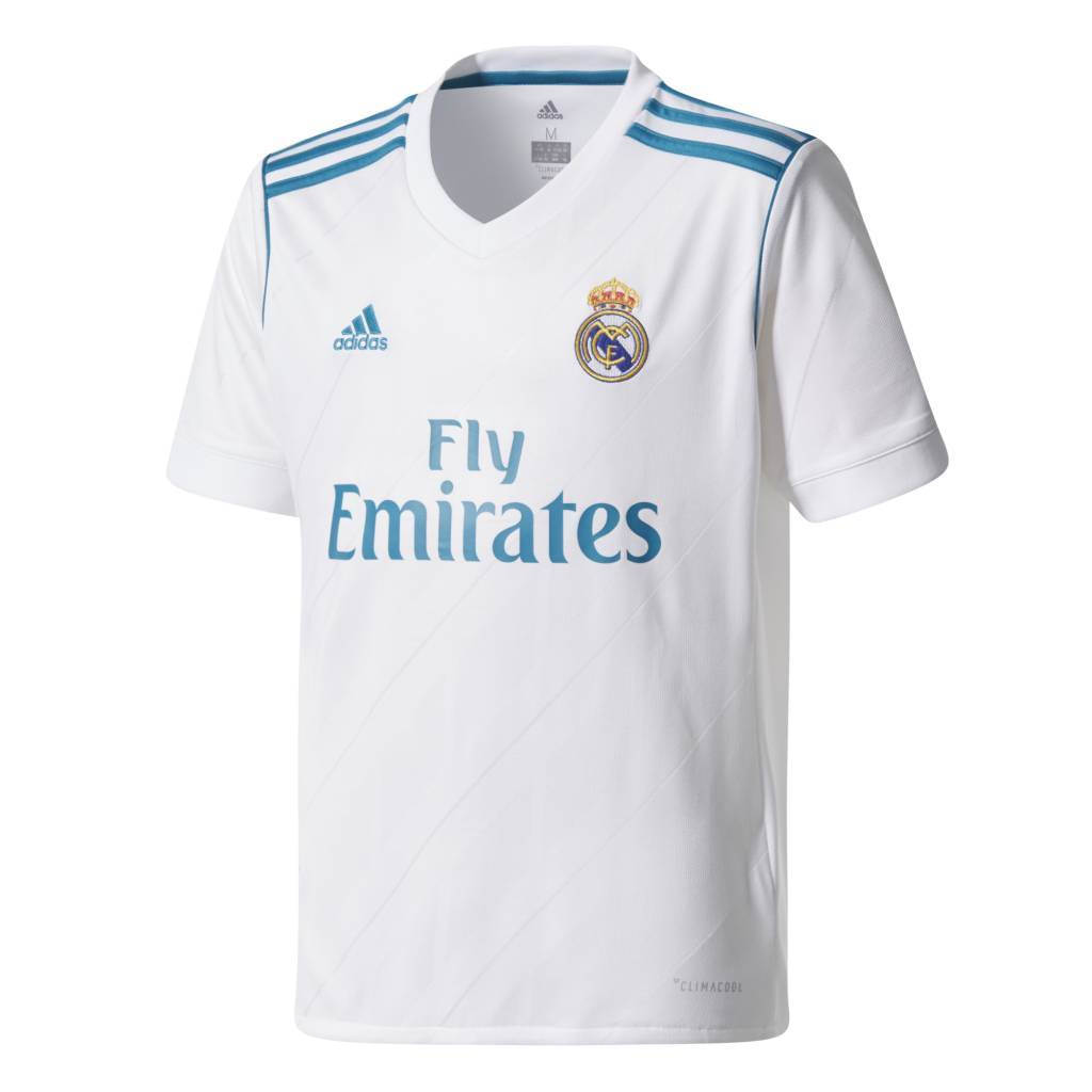 Adidas Real Madrid Thuis Shirt 17/18 JR.