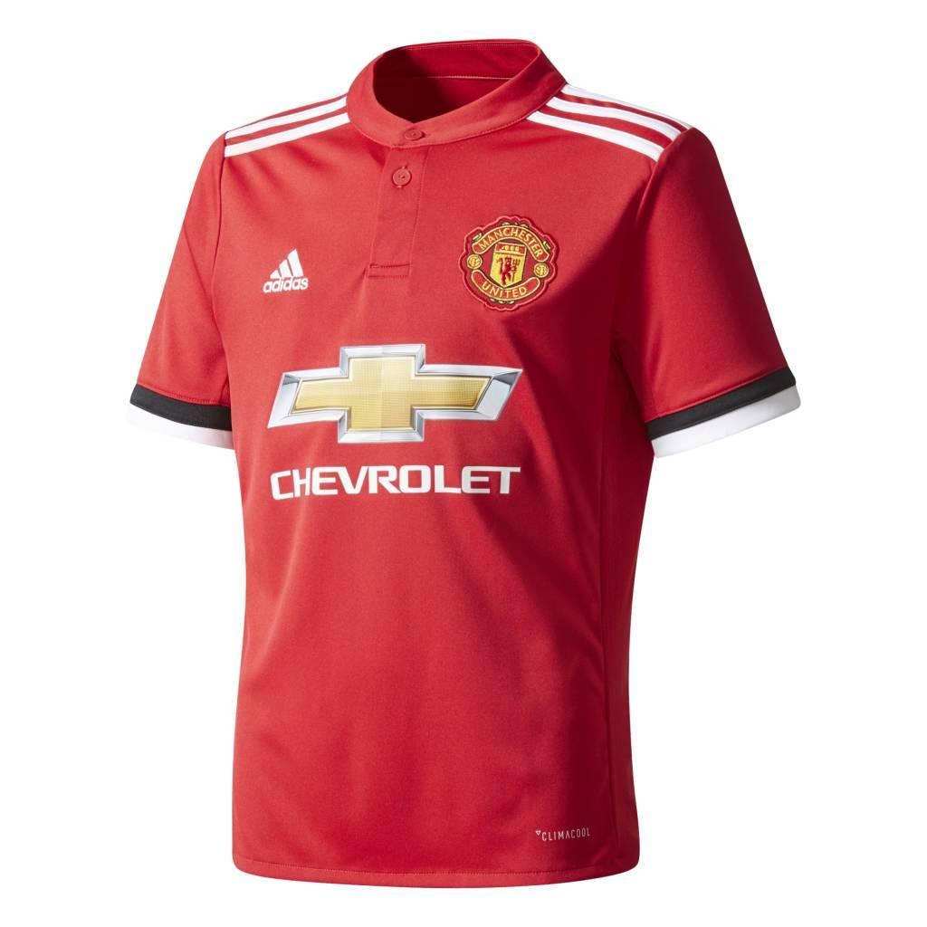 Adidas Manchester United Thuis Shirt 17/18 JR.
