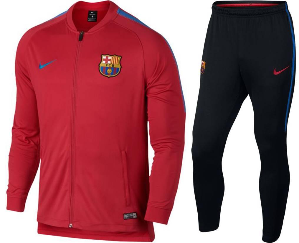 Nike FC Barcelona Trainingspak 17/18 Jr.