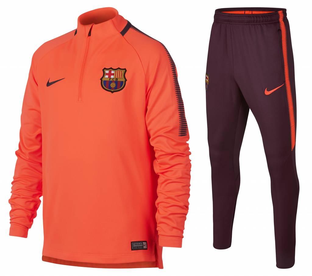 Nike FC Barcelona Drill Top Pak 17/18 JR.