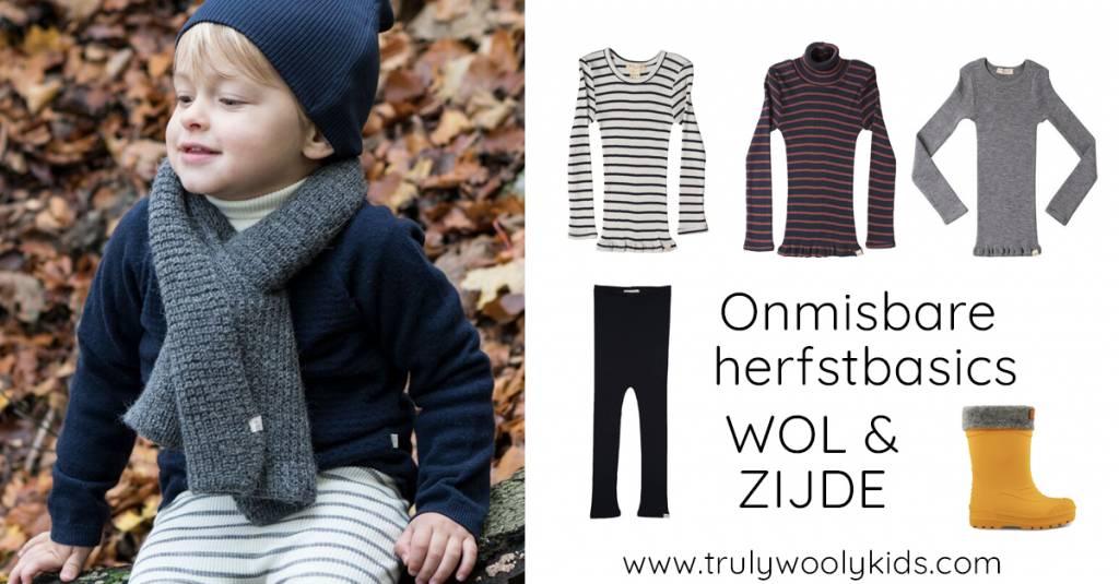 3 TIPS:  de fijnste kinderbasics van wol en zijde voor dit herfstseizoen