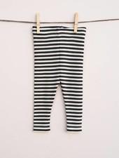 Lilli & Leopold baby leggings wool - 100% organic merino - stripes - 80 to 92