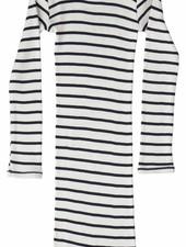 Minimalisma Bina jurk zijde - fijn geribd - 70%zijde - sailor - 18m tm 8 jaar