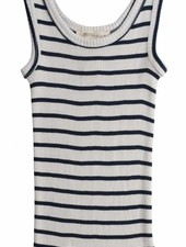 Minimalisma Billund silk tanktop - 70% silk - sailor stripes - 2 to 8 years