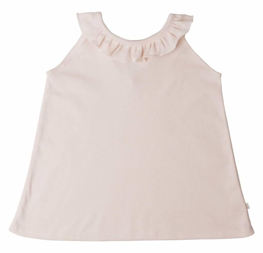 Minimalisma Solja top - 100% organic cotton - pale blush - 18 m to 6 years