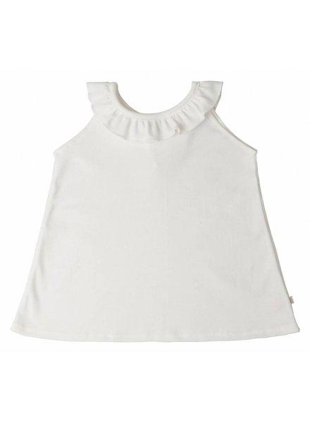 Minimalisma Solja top - 100% organic cotton - white - 18 m to 6 years