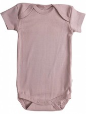Minimalisma Nea romper - geribd - 100% organisch katoen - oud roze - 12m tm 3 jaar