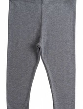 Minimalisma Nice leggings - fine rib - 100% organic cotton - grey melange - 18m to 6 years
