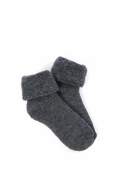 Smallstuff wollen sokjes - merino wol - antraciet - maat 15 tm 24