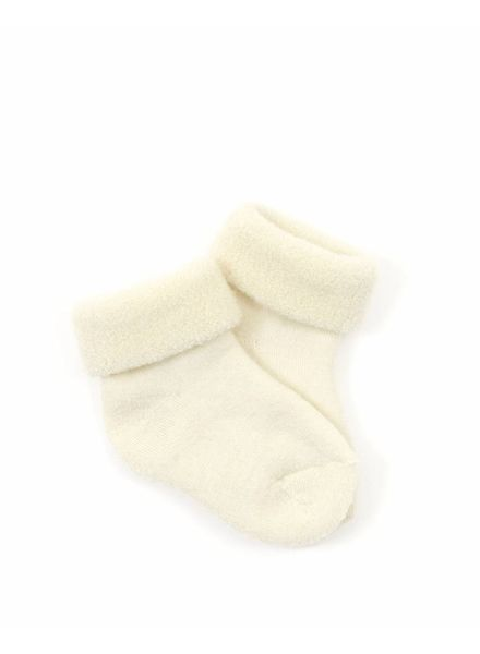 Smallstuff wool socks - merino wool - off white - size 15 to 24