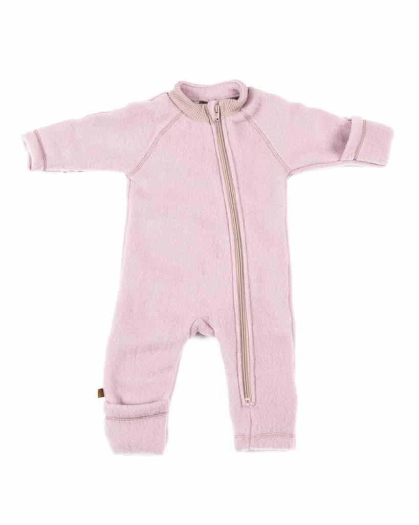 Babykleding 56.Smallstuff Wool Baby Suit Jumpsuit Winter Pink 100 Merino