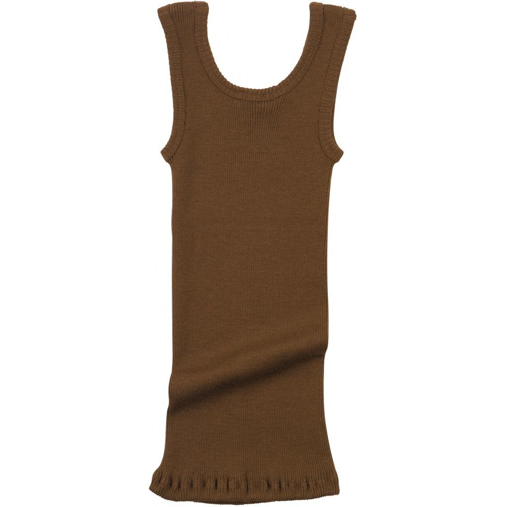 Minimalisma ARENDAL tanktop wool - fine rib - 100% merino - cinnamon - 2y to 12y