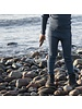 Minimalisma wollen legging ARONA - fijne rib - 100% merino - onweer blauw - 0 tm 12 jaar