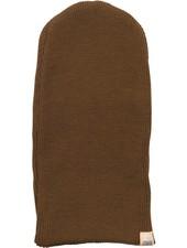 Minimalisma ANDERSEN beanie wool - fine rib - 100% merino - cinnamon - 0 to 12 years