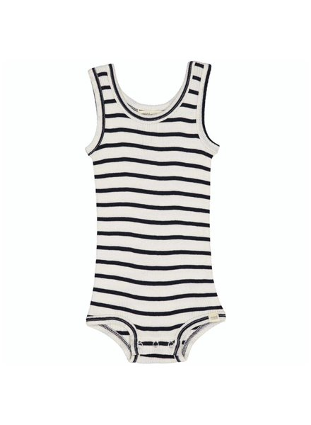Minimalisma silken BORNHOLM tanktop body - 70% silk - sailor - 1 m to 3 years