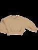 Poudre Organic CEDRAT sweatshirt - 100% organic cotton - camel tan - 2 to 8 years