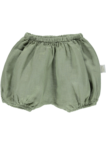 Poudre Organic VERVEINE bloomers - linen - oil green - 56 to 104