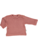 Poudre Organic ESTRAGON terry shirt - longsleeve  - 100% organic cotton - light mahogany  - 6 m to 8 years