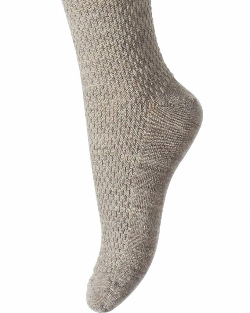 MP Denmark Wool tights - capsule - beige grey - 80 tm 160