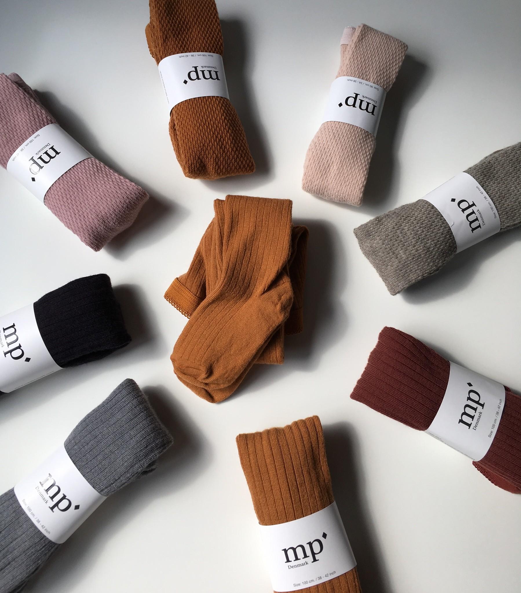 MP Denmark Wool tights - capsule - beige grey - 80 tm 130