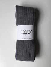 MP Denmark wool tights  - ribbed - grey marled - 80 to 160