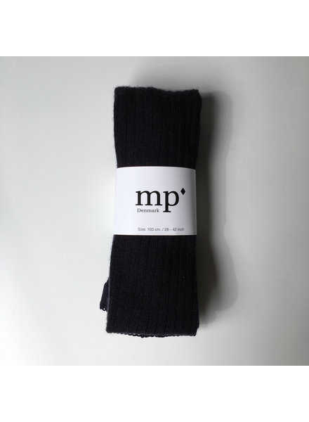 MP Denmark wool tights  - ribbed - navy blue - 90 to 160
