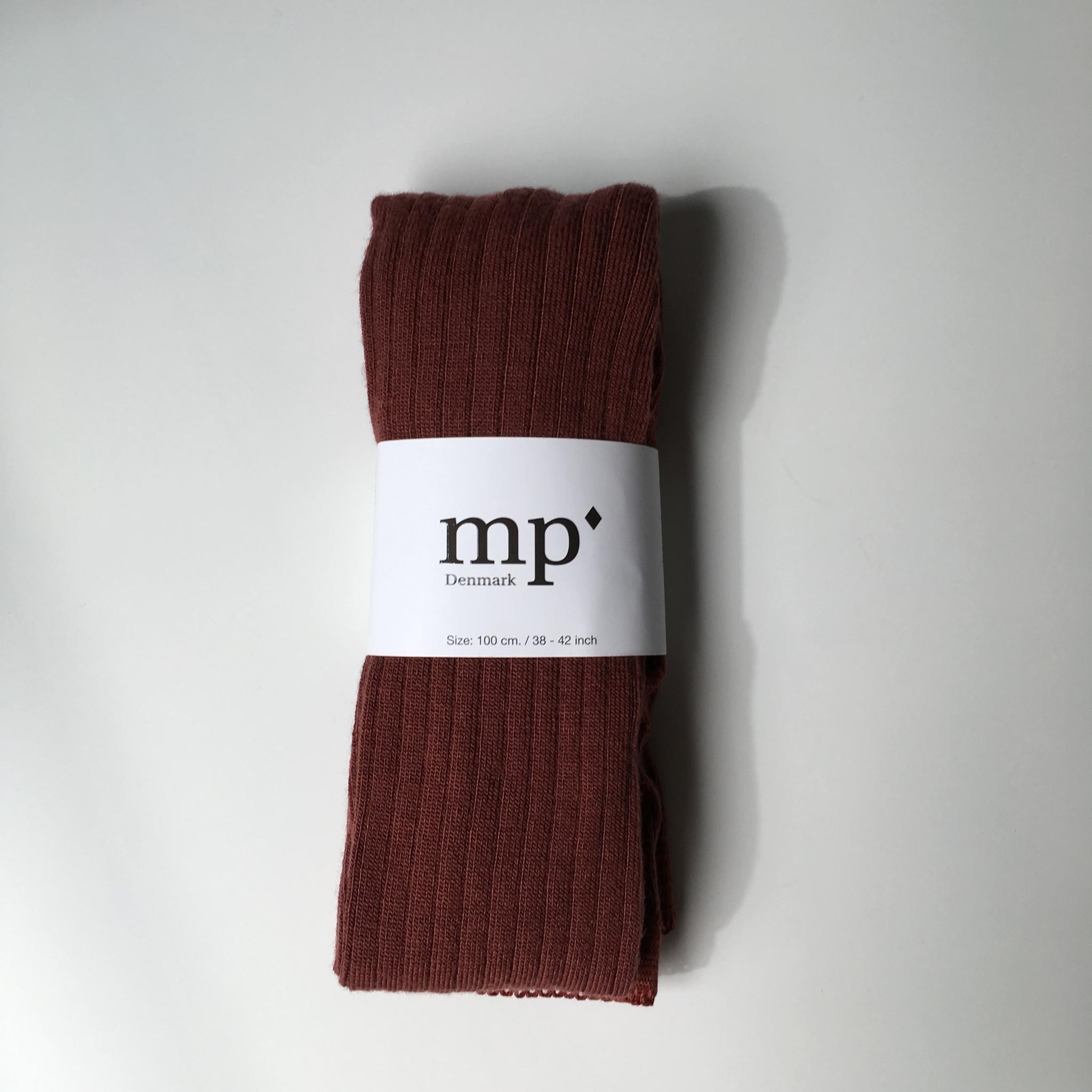 MP Denmark wollen maillot - geribd - roodbruin - 90 tm 160
