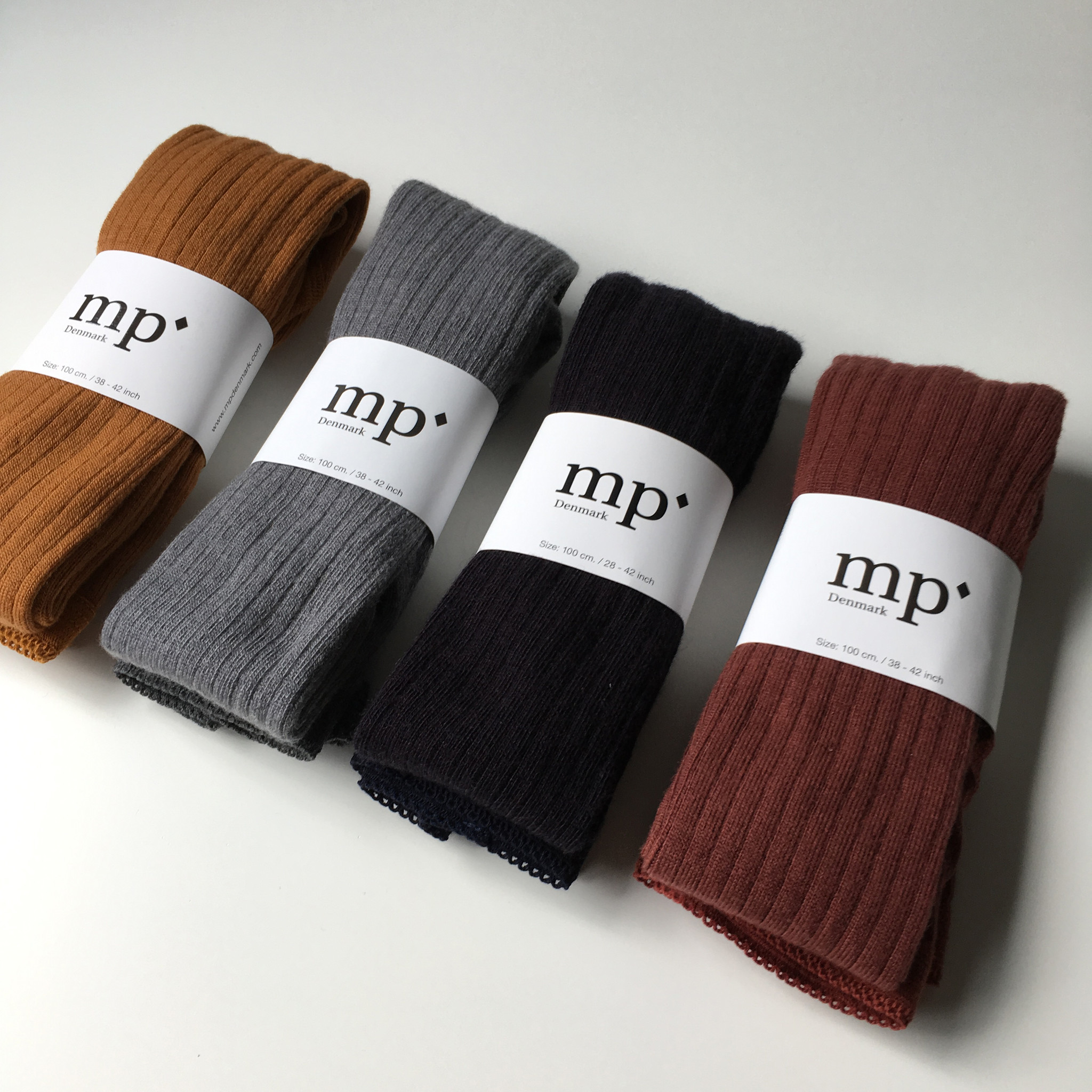 MP Denmark wollen maillot - brede rib - 80% merino wol - roodbruin - 90 tm 160