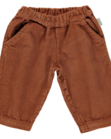 Poudre Organic COCO rib pants - 100% cotton - caramel cafe - 1 to 14 years
