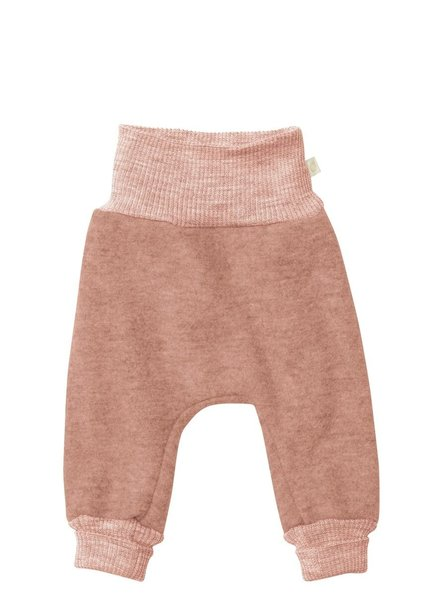 DISANA boiled wool pants - 100% organic merino wool - pink - 50 to 104
