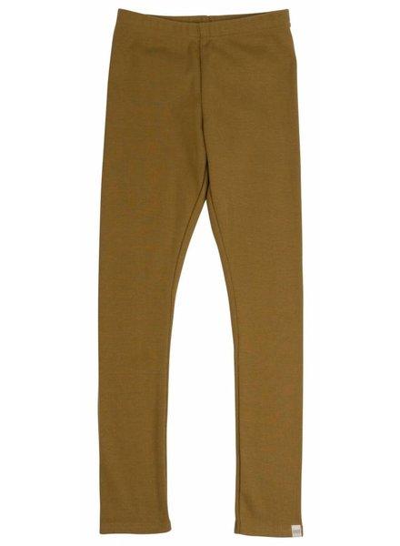 Minimalisma - NICE leggings - 100% organic cotton - golden leaf - 1m to 6 y