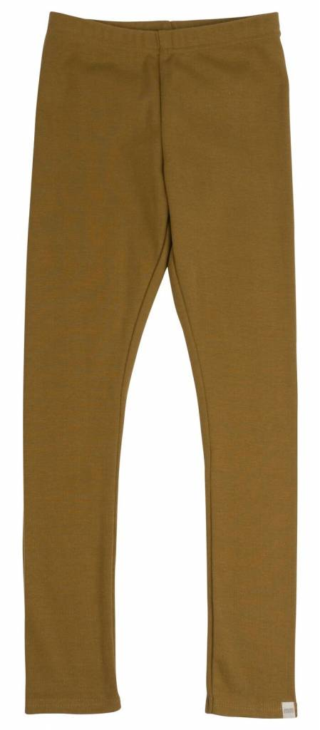 Minimalisma - legging NICE - 100% biologisch katoen - okergeel - 1 m tot 6 jaar