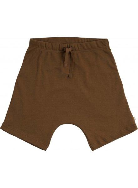 Minimalisma - short pants NORSE- 100% organic jersey cotton - amber - 2 to 10 Y