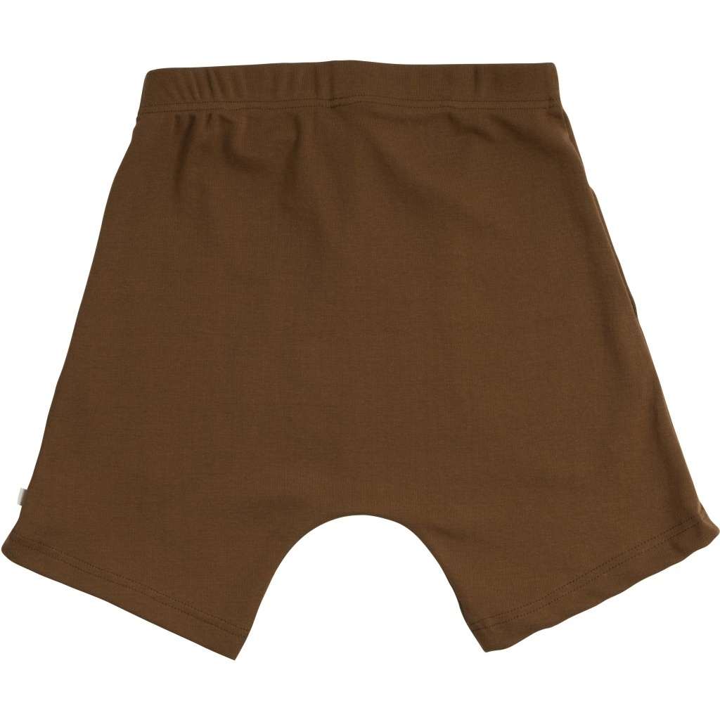 Minimalisma - short pants NORSE- 100% organic jersey cotton - amber - 2 to 10 Y