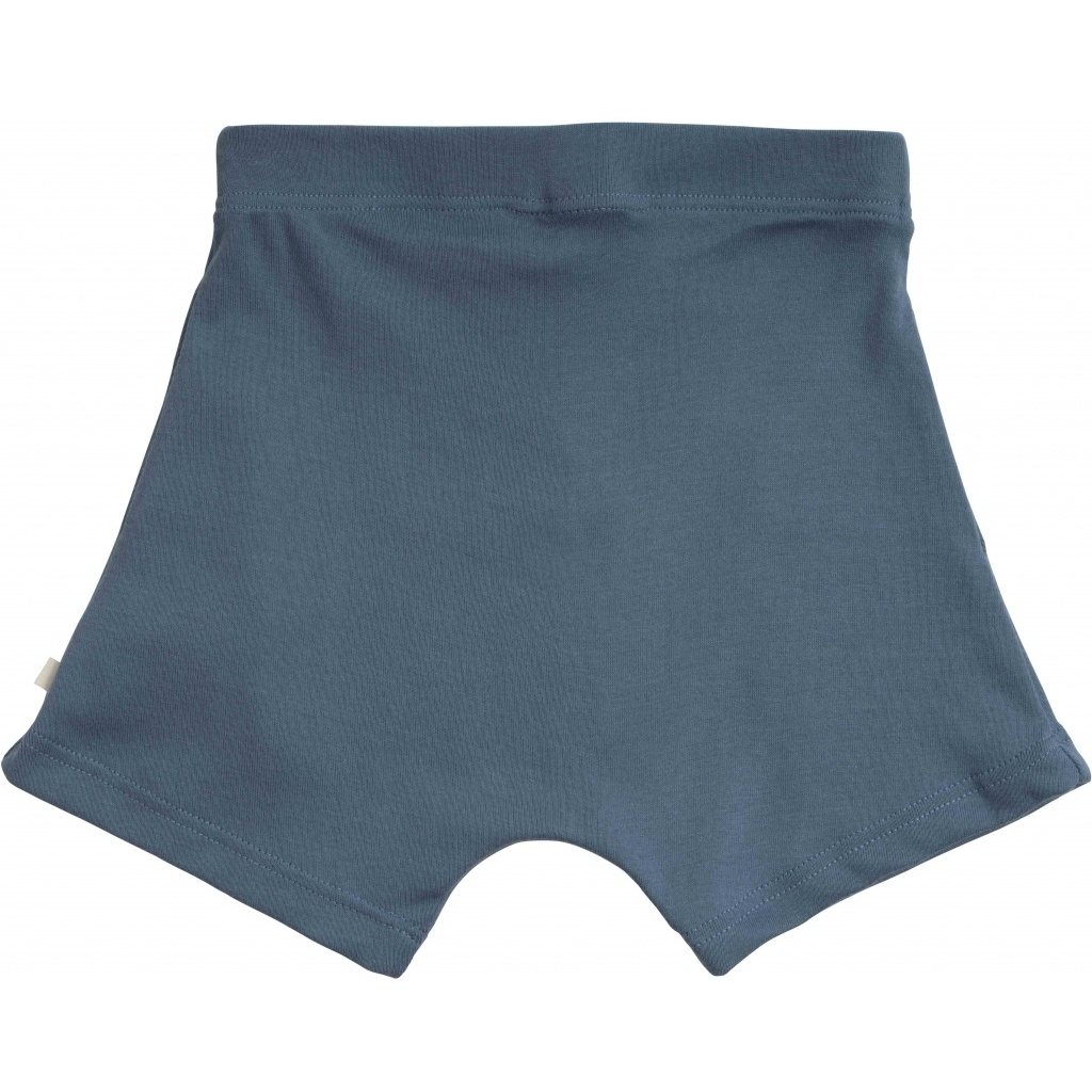 Minimalisma - korte broek NORSE- 100% biologisch jersey katoen -  blauw - 2 tm 10 jaar